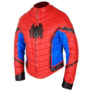 Spiderman Homecoming Leather Jacket
