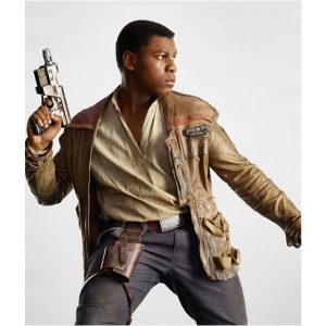 Star Wars Finn John Boyega Distressed Jacket