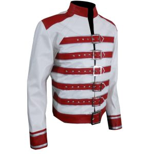 Freddie Mercury Red And White Jacket