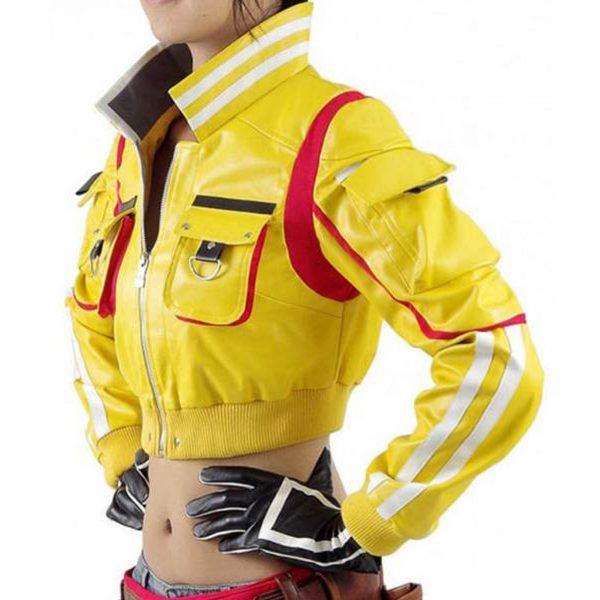 Final Fantasy Hammerhead Cindy Short Body Costume Jacket