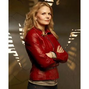 Once Upon A Time Jennifer Morrison (Emma Swan) Red Jacket