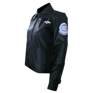 Top Gun Kelly McGillis Leather Jacket