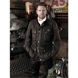 Ewan McGregor Goodwood Revival Festival Leather Jacket