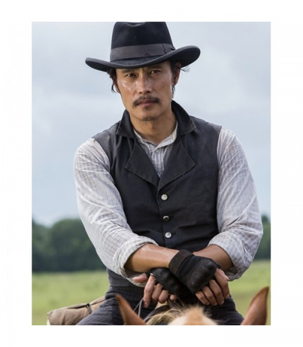 Byung-Hun Lee Magnificent Seven Black Vest