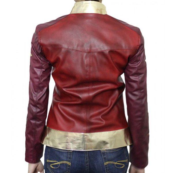Wonder Woman Costume Leather Jacket