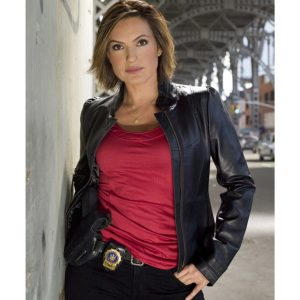Law & Order MariskaHargitay Leather Jacket