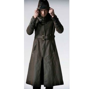 Gothic Medieval Steampunk Assassin's Creed Military Trench Coat