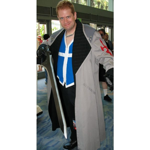 Final Fantasy VIII Seifer Almasy Trench Coat Cosplay Costume