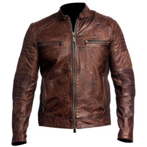 MENS-VINTAGE-CAFE-RACER-BROWN-BIKER-JACKET2