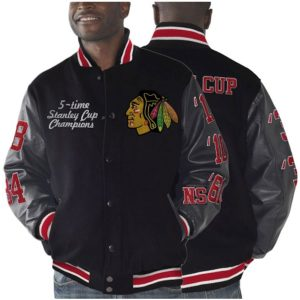 STANLEY-CHAMPIONS-BLACKHAWKS-CHICAGO–JACKET