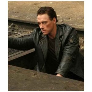 VAN DAMME UNTIL DEATH BLACK LEATHER JACKET