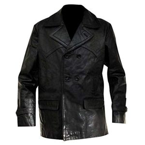 CHRISTOPHER ECCLESTON DOCTOR WHO LEATHER COAT