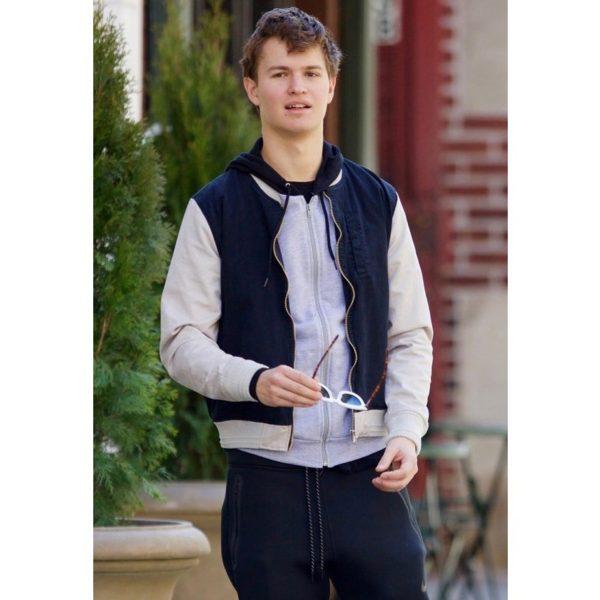 Ansel Elgort Baby Driver Bomber Jacket