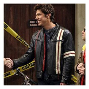 David Underhill Big Bang Theory Leather Jacket