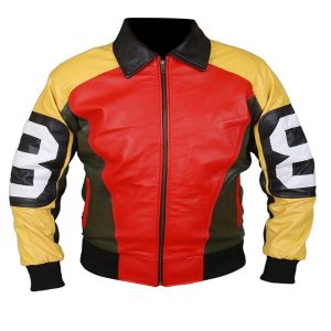 Michael Hoban 8 Ball Vintage Leather Jacket
