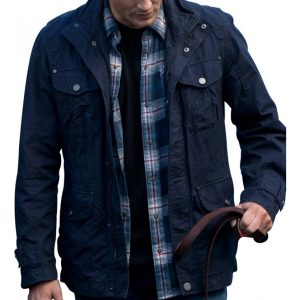 SUPERNATURAL DEAN WINCHESTER BLUE COTTON JACKET