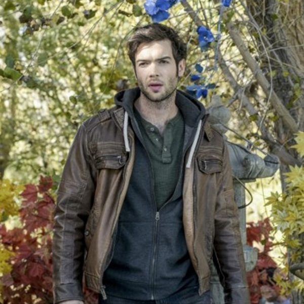 The Curse of Sleeping Beauty Ethan Peck Brown Jacket