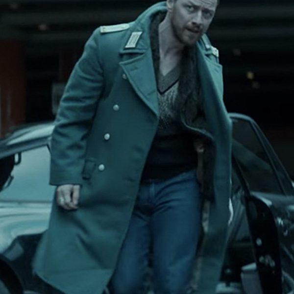 James Mcavoy Atomic Blonde Woolen Coat