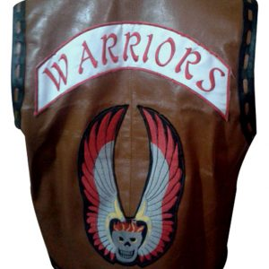 Shop-Best-seller-Brown-Jacket-Leather-Vest-Ajax-The-Warriors-Vest-Costume-Uk-USA-Canada-image-2