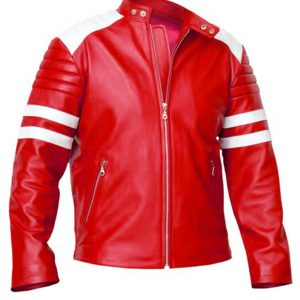 Shop-Best-seller-FC-Coat-Leather-Jacket-Fight-Club-Brad-Pitt-Red-White-Mayhem-Jacket-Uk-USA-Canada-image-1