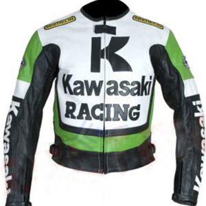 Shop-Best-seller-Green-Biker-Jacket-Kawasaki-Motorcycle-Green-White-Racing-Jacket-Uk-USA-Canada-image-1