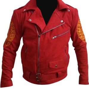 Shop-Best-seller-Red-Leather-Suede-Jacket-Once-Upon-a-Time-in-Mexico-Enrique-Iglesias-Leather-Jacket-Jacket-Uk-USA-Canada-image-3