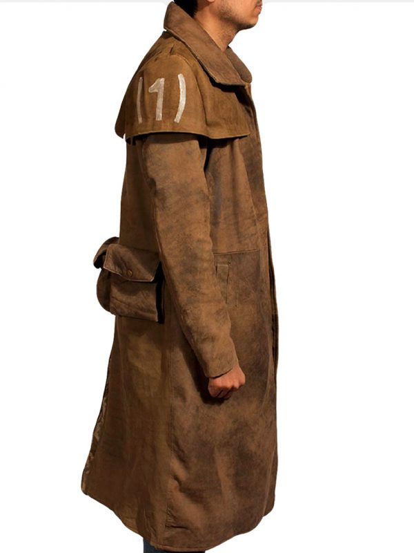 Fallout NCR Veteran Ranger Duster Leather Coat