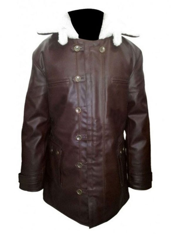 Dark Knight Rises Bane Leather Coat