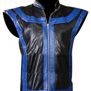 Shop-Most-Wanted-Blue-jacket-Leather-Vest-The-FP-BTRO-Brandon-Barrera-Star-Leather-Jacket-UK-USA-Canada-image-1