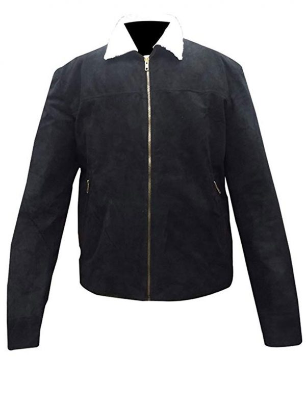 Walking Dead Season 4 Rick Grimes Black Jacket.