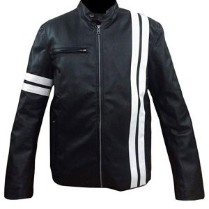 Shop-Most-wanted-Black-Leather-Jacket-Driver-San-Francisco-John-Tanner-Gaming-Jacket-UK-USA-Canada-image-3