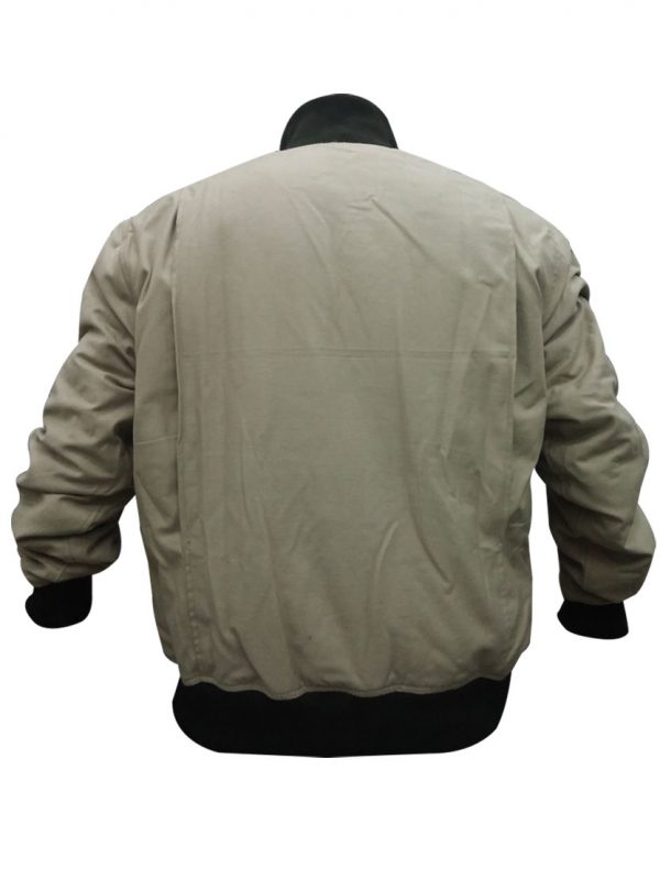 Brad Pitt Fury WW2 Kay Canvas Tanker Jacket