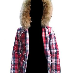 Shop-Most-wanted-Red-Cotton-Randi-Manchester-by-the-Sea-Fur-hoodie-Jacket-UK-USA-Canada-image-1