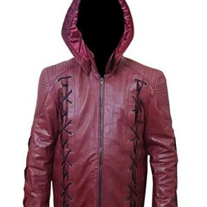 Shop-Most-wanted-Red-Leather-Jacket-Arrow-Season-3-Colton-Haynes-Roy-Harper-Red-Leather-Costume-UK-USA-Canada-image-1