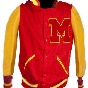 Shop-Most-wanted-Red-Varsity-Jacket-Bad-Tour-Michael-Jackson-Thriller-M-Leather-Jacket-UK-USA-Canada-image-2