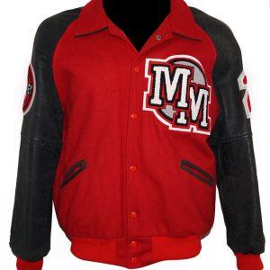 Shop-Most-wanted-Wool-Varsity-jacket-Michael-Jackson-Mickey-Mouse-Club-Red-Varsity-Jacket-Uk-USA-Canada-image-1