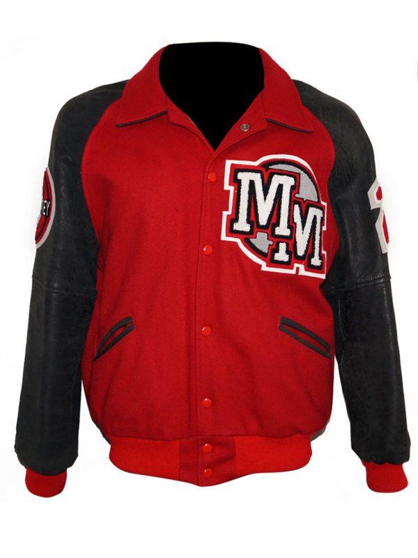 Michael Jackson Mickey Mouse Club Red Varsity Jacket