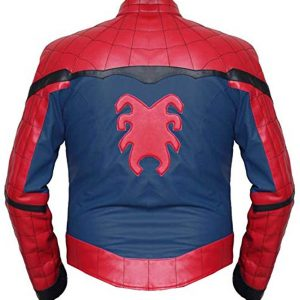 Spiderman Homecoming Leather Jacket.