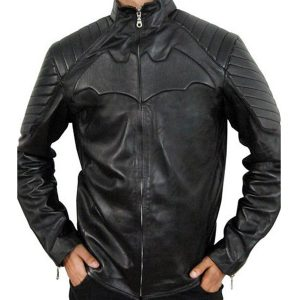 BATMAN-BEGINS-BLACK-BIKER-JACKET