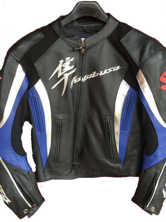 Suzuki Hayabusa Motorcycle Racing Jacket