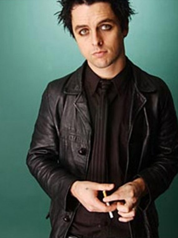 Billie Armstrong Black Leather Jacket Joe