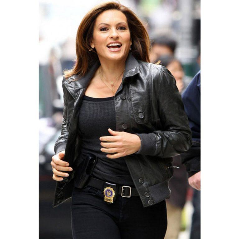 Law & Order MariskaHargitay Leather Jacket
