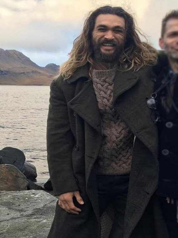 Arthur Curry Justice League Movie Aquaman Wool Coat
