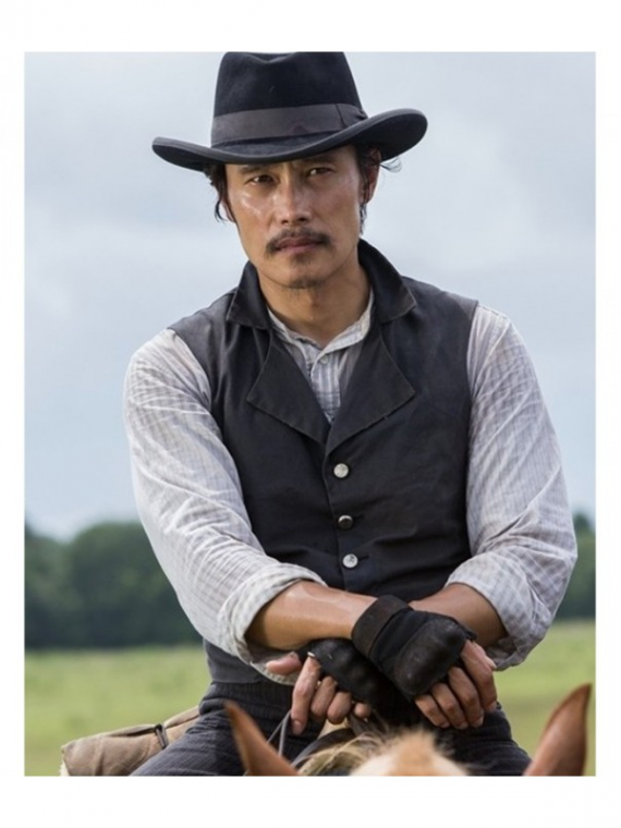 Byung-Hun Lee Magnificent Seven Black Vest