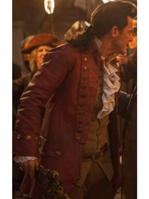 Beauty And The Beast Gaston Luke Evans Coat