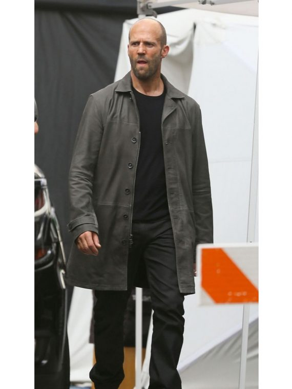 Fast and Furious 8 Jason Statham Long Coat