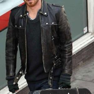A-LONG-WAY-DOWN-AARON-PAUL-BLACK-DISTRESSED-JACKET