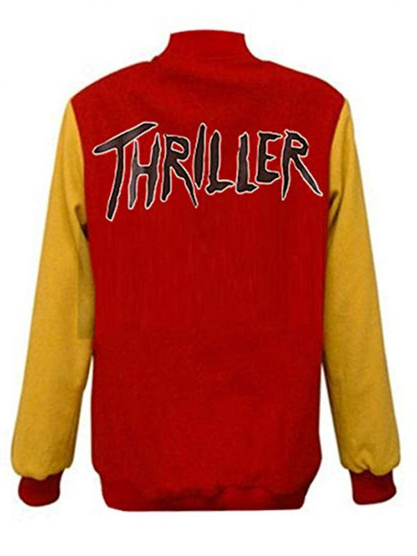 BAD TOUR MICHAEL JACKSON THRILLER M LEATHER JACKET