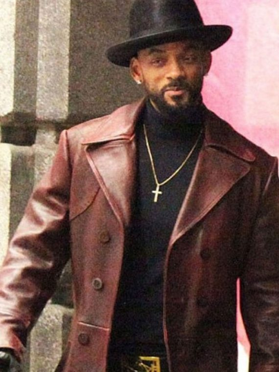 Suicide-Squad-Will-Smith-Deadshot-Trench-Leather-Coat