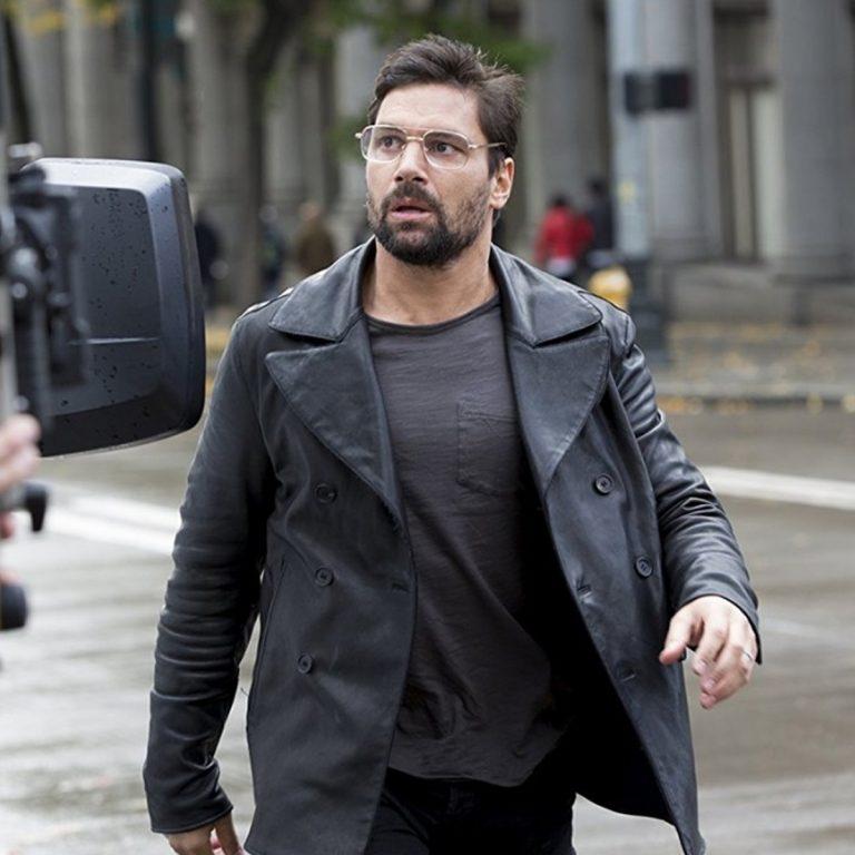 Beta Test Manu Bennett (Creed) Leather Jacket Coat